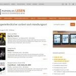 Webseite: papierlos-lesen.de